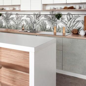 vinilo decorativo Cemento Cristal cocina