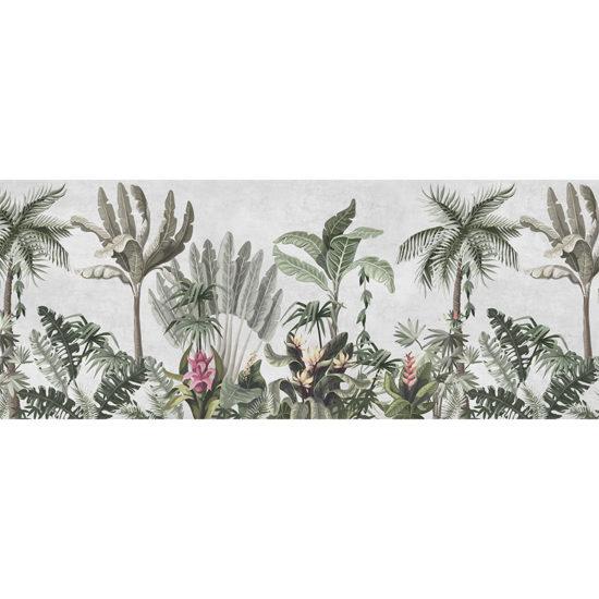 vinilo decorativo tropic Flower 200x80 cm