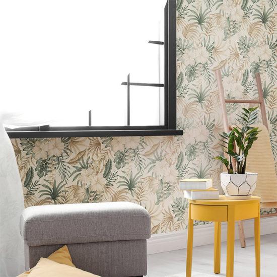 vinilo decorativo Hibis, salón