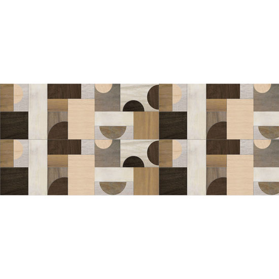 vinilo decorativo Bauhaus madera 100x80 cm