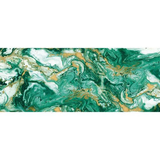 vinilo decorativo Green Marble 200x80 cm