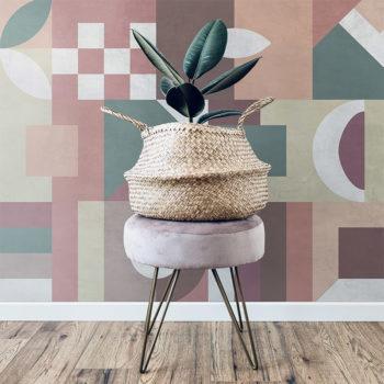 vinilo decorativo Geocolor pared
