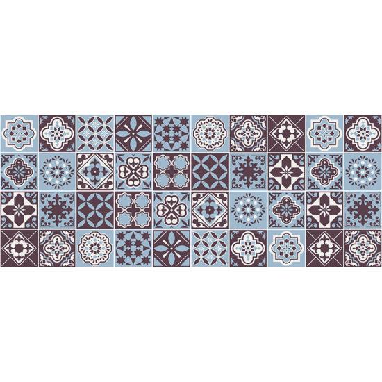 vinilo decorativo Boston Blue 200x80 cm