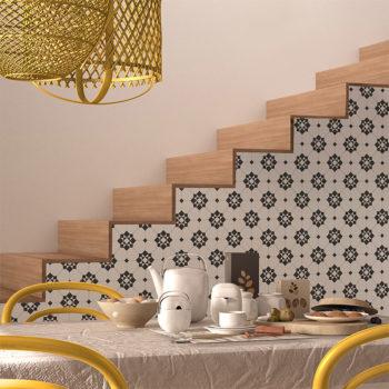 vinilo decorativo Jane escaleras