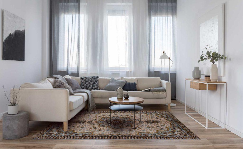 alfombra vinílica persa