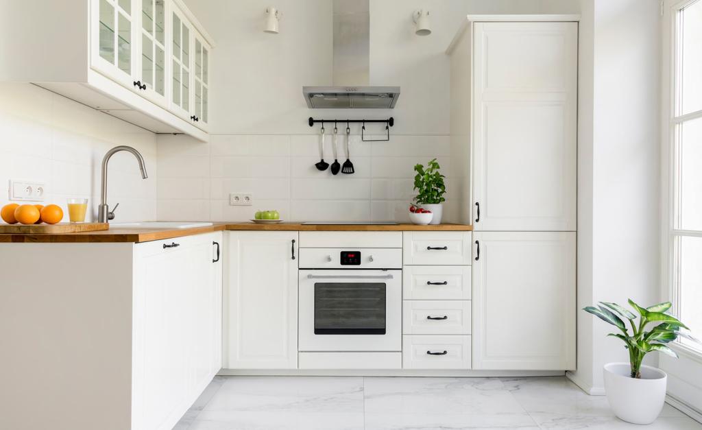 Decoración de cocinas blanca