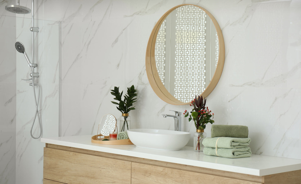 Tendencia espejos baño