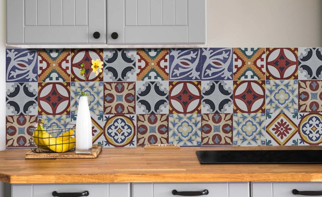 vinilos pra cubrir azulejos cocina
