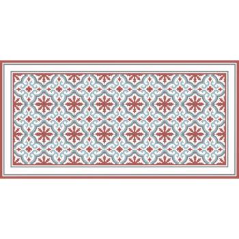 Alfombra vinílica Rabat Red 97 x 48 cm