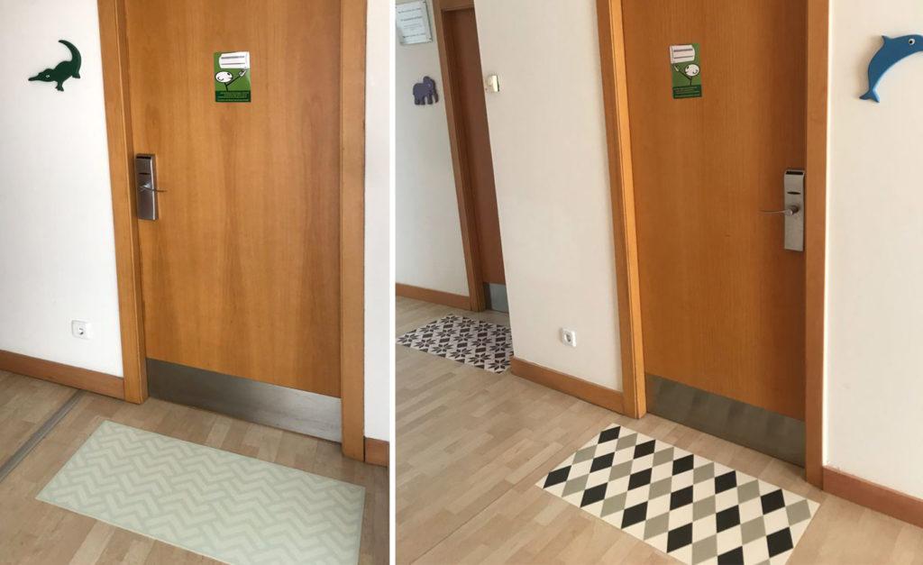 alfombras de bienvenida felpudos