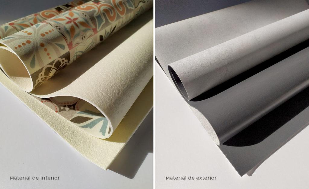 materiales alfombras vinílicas