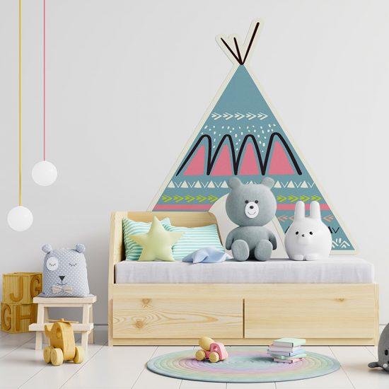 Habitación infantil cabecero de cama Tippy colores