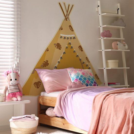 Habitación infantil cabecero de cama Tippy indi
