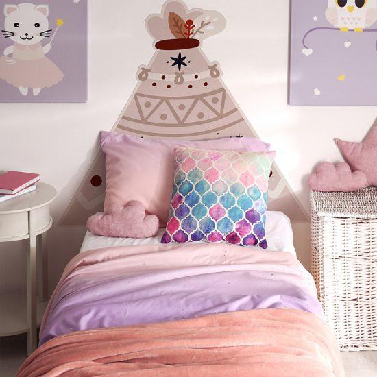 Habitación infantil cabecero de cama Tippy rustik
