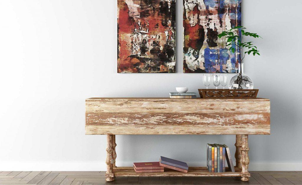 estilo kinfolk restauración muebles