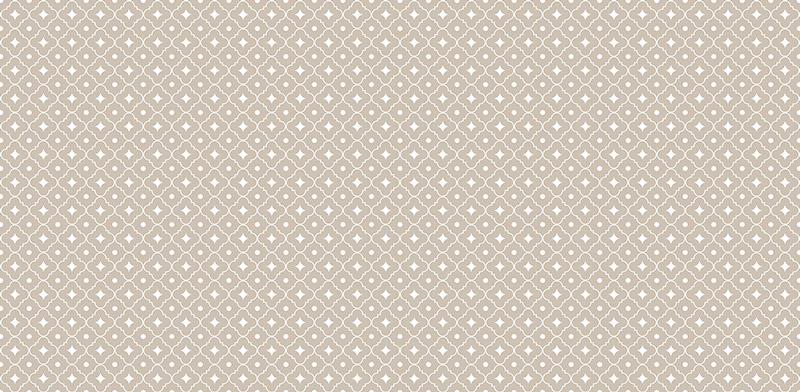 Alfombra vinílica geométrica beige